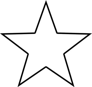 Shape Clipart Black And White Star Clipart Black And White Border