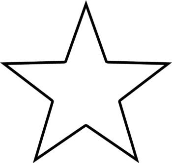 Shape Clipart Black And White Star Clipa-Shape Clipart Black And White Star Clipart Black And White Border-5
