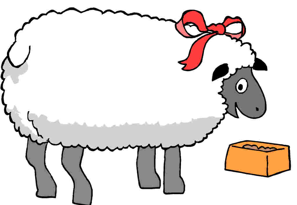 Sheep Clipart-Sheep Clipart-19
