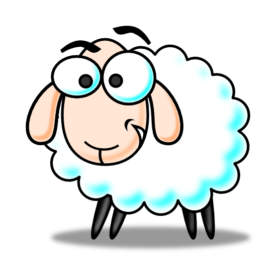 Sheep Lamb Clipart Black And White Free -Sheep lamb clipart black and white free clipart images-18