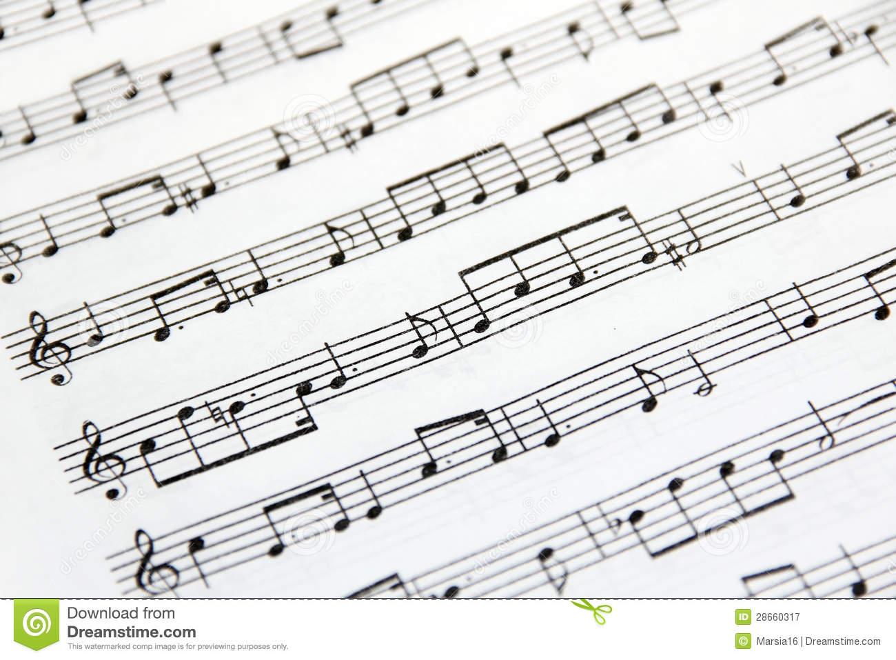 Sheet Music Clipart Sheet Music