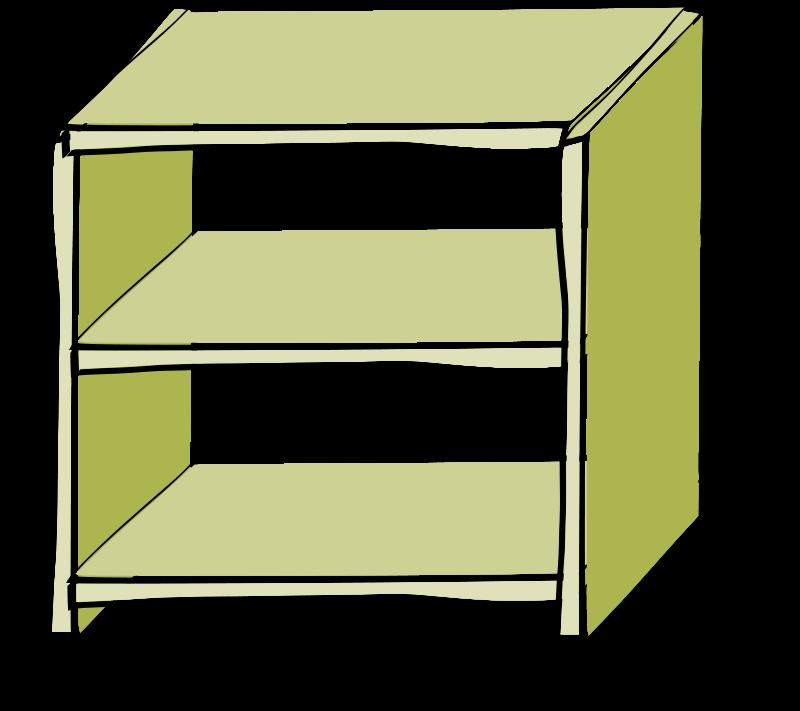 shelf clipart - Shelf Clipart