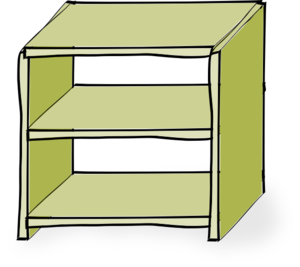 Shelves Clip Art At Clker Com - Shelf Clipart