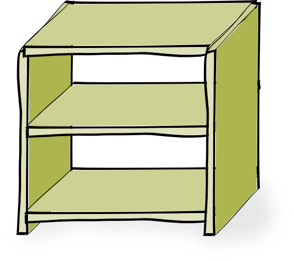 Shelves Clip Art - Shelf Clipart