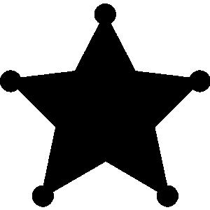 Sheriff Badge Clip Art Sheriff Badge Clip Art