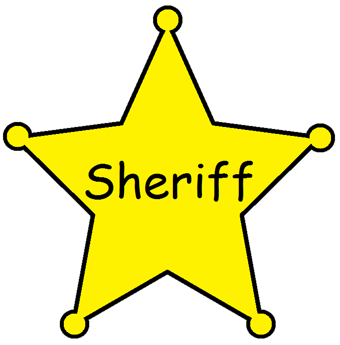 Sheriff Badge Clipart Cliparts Co