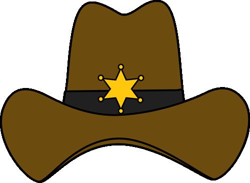 Sheriff Cowboy Hat Clip Art Image Cowboy-Sheriff Cowboy Hat Clip Art Image Cowboy Hat With A Sheriff Badge On-17