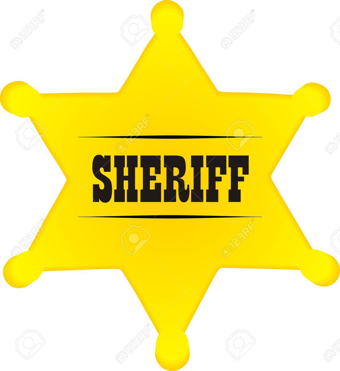 Sheriff Star Clip Art. Download