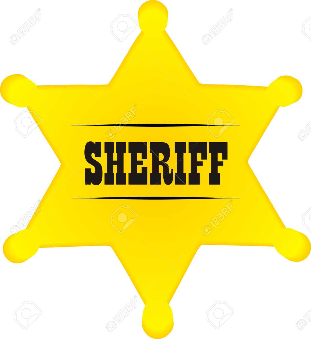 Sheriff Star Clip Art. Download