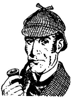 Sherlock ClipartBook CharactersSherlock -Sherlock ClipartBook CharactersSherlock HolmesMy ...-11