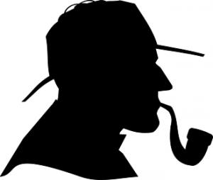 Sherlock Holmes Silhouette-Sherlock Holmes Silhouette-15