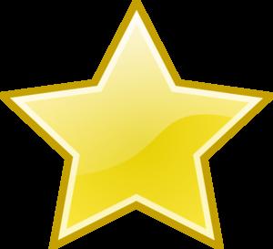 Shining Star Clipart #1