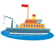Sport Fishing Boat Clipart 18. Size: 55 Kb