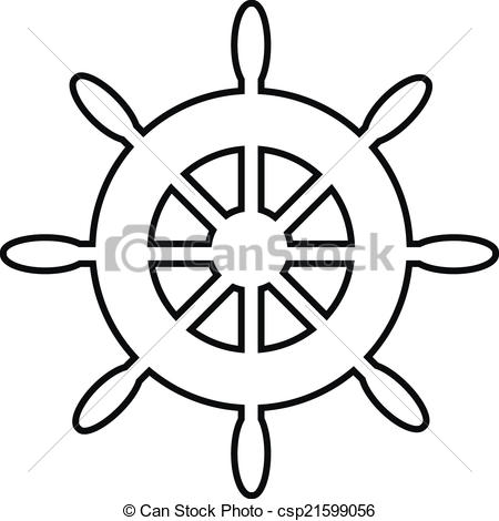 Ship Steering Wheel Clipart.  - Ships Wheel Clip Art