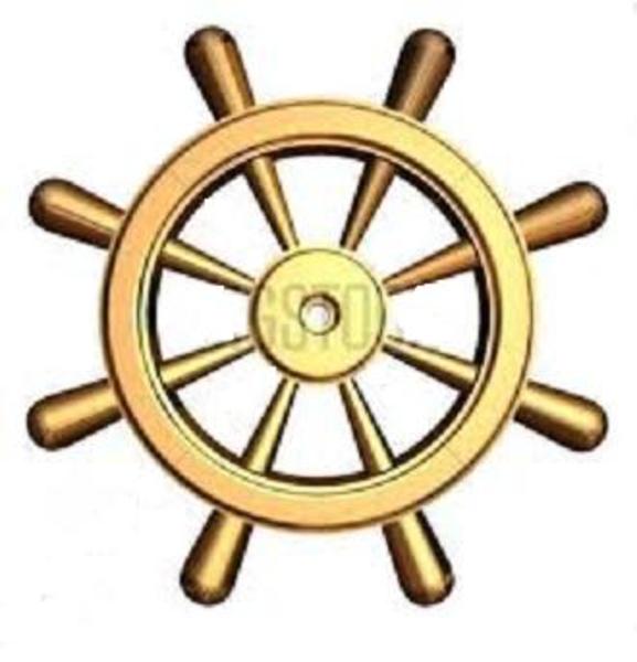 Ship Wheel Clip Art-Ship Wheel Clip Art-19