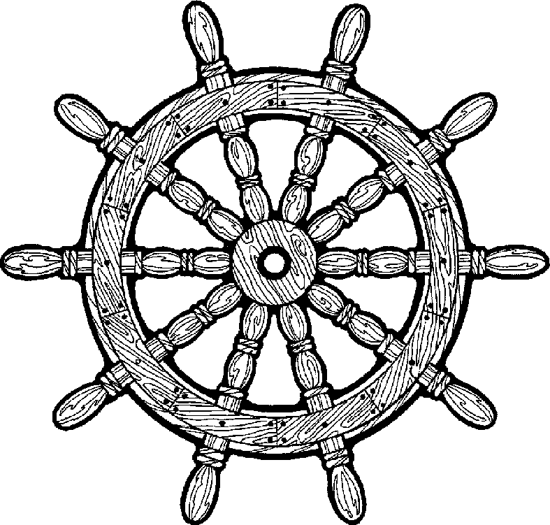 Ship Wheel - Ships Wheel Clip Art