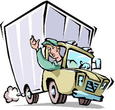 shipment clipart - Delivery Truck Clipart