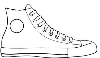 Shoe Clip Art Black And White .-Shoe clip art black and white .-6