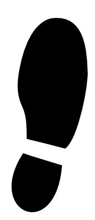 Shoe Print L Image