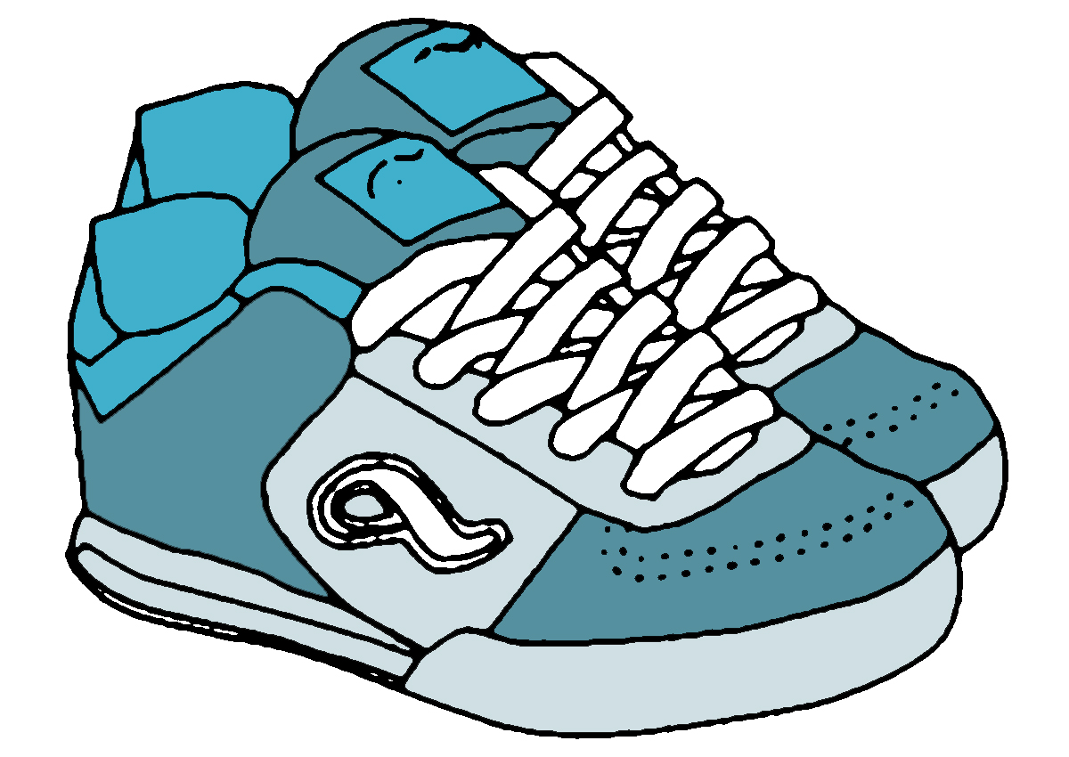 Shoes Clipart Black And White Clipart Pa-Shoes Clipart Black And White Clipart Panda Free Clipart Images-7