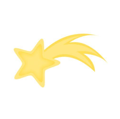Shooting Star esquema Clip Art | Clipart Panda - Ilustraciones Imágenes sin