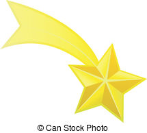 Shooting Star Clipart Black A