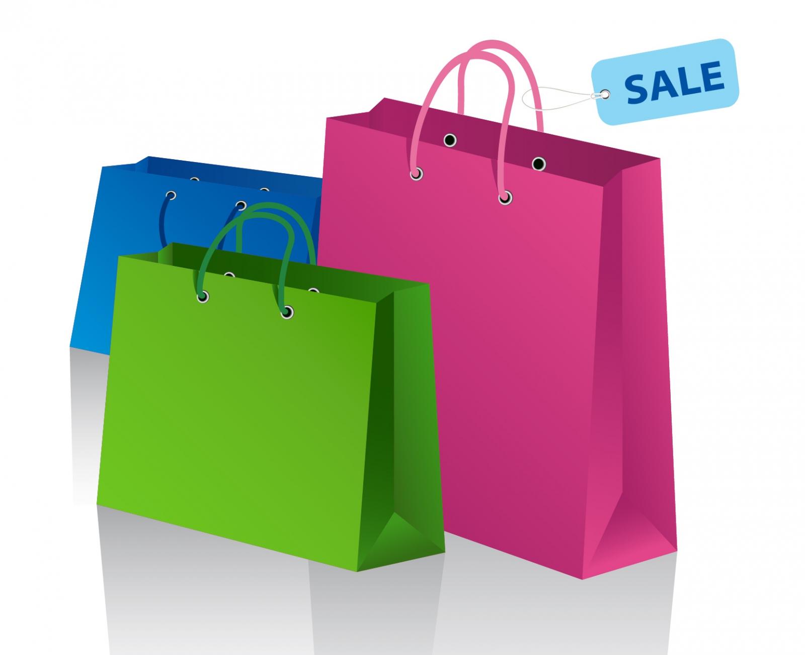 Shopping Bag Clipart #17594-Shopping Bag Clipart #17594-14