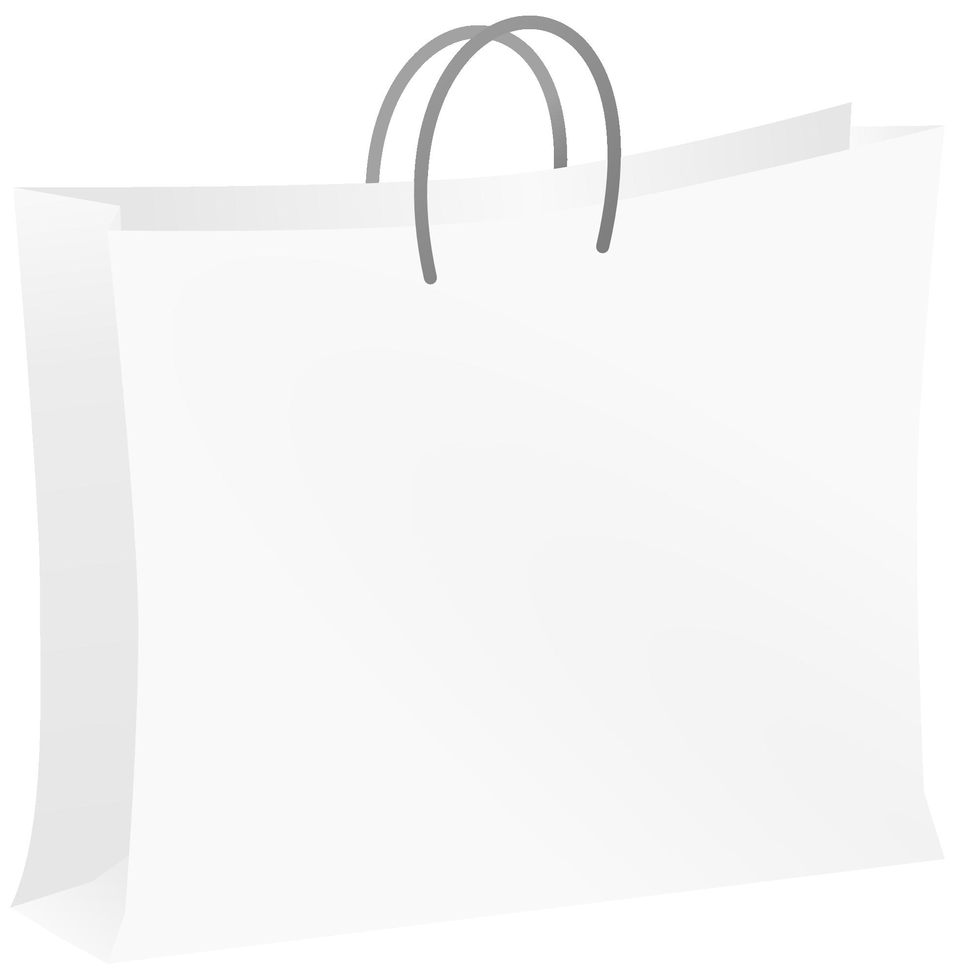 Shopping Bag Clipart Brown Bag Clipart W-Shopping Bag Clipart Brown Bag Clipart White Bag 1969px Png-15