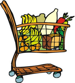 Shopping Carts | Argodyne Heavy Industries. grocery_cart_2 - My Tummy is Full