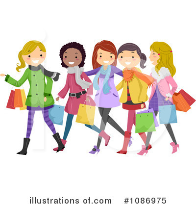 Shopping Clipart 1086975 By .-Shopping Clipart 1086975 By .-12