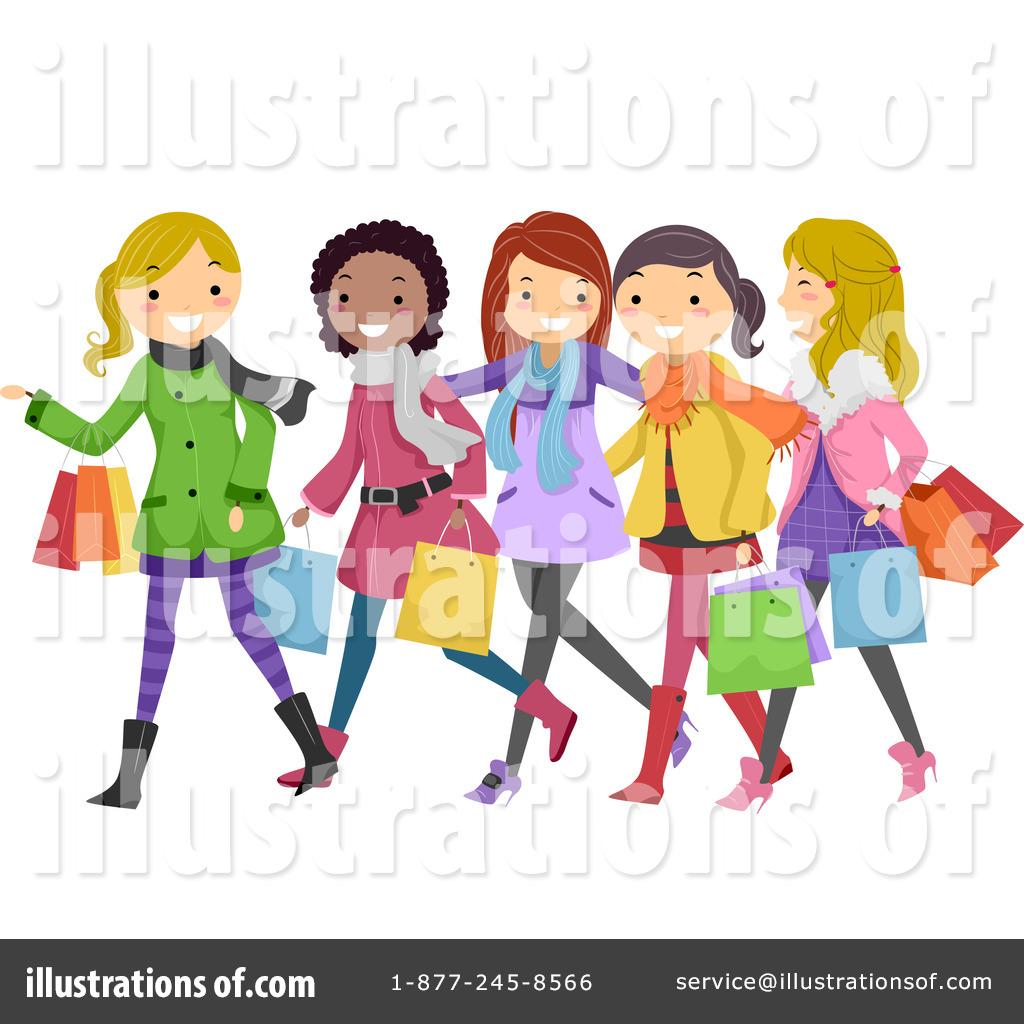 Royalty-Free (RF) Shopping Clipart Illus-Royalty-Free (RF) Shopping Clipart Illustration by BNP Design Studio -  Stock Sample-9