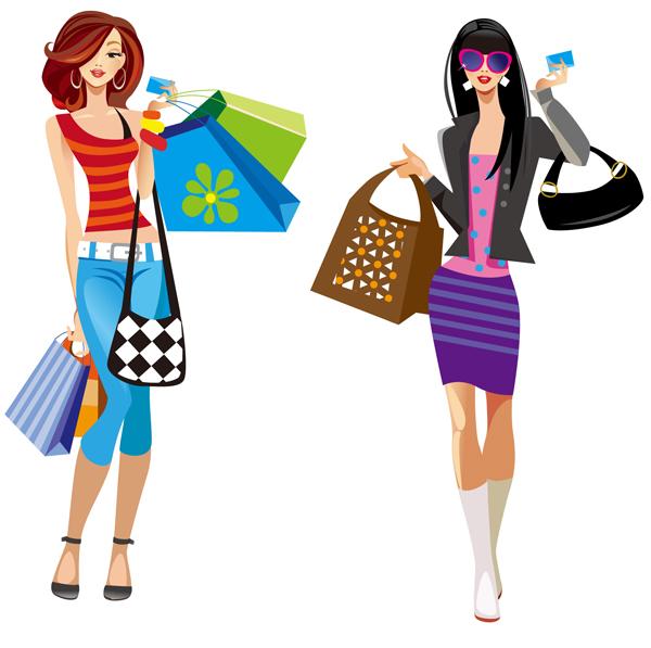 Shopping Girl Clipart-Shopping Girl Clipart-18