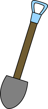 Snow Shovel Vector Illustrati