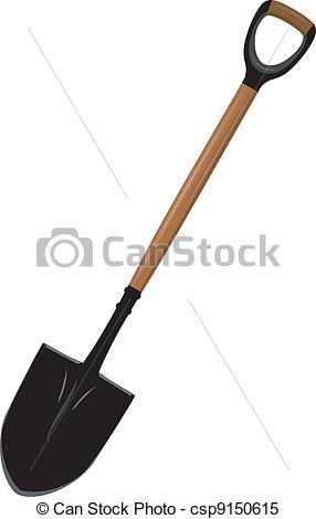 Illustration Of A Shovel