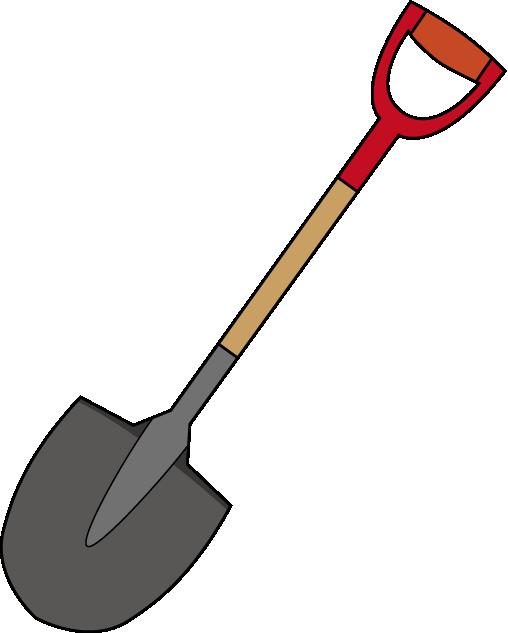 Shovel free to use clipart image