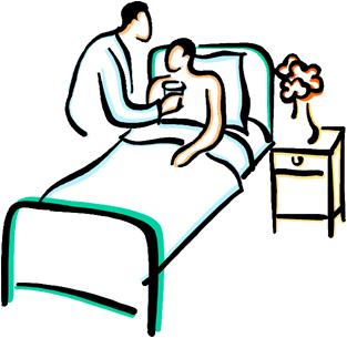 Sick Person Image Clipart Best