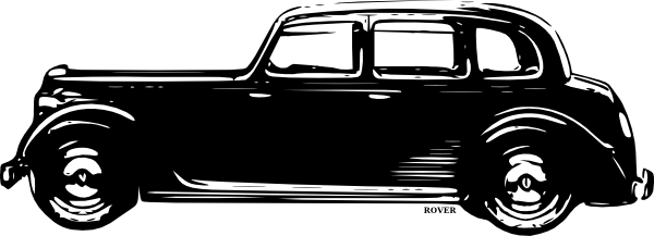 Side View Black Classic Car Clipart-Side View Black Classic Car Clipart-16