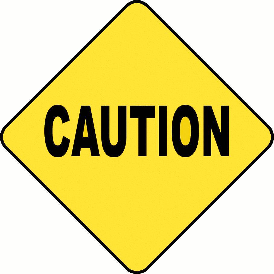 sign clipart u0026middot; dan - Caution Sign Clipart