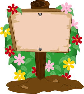 sign clipart - Sign Clip Art
