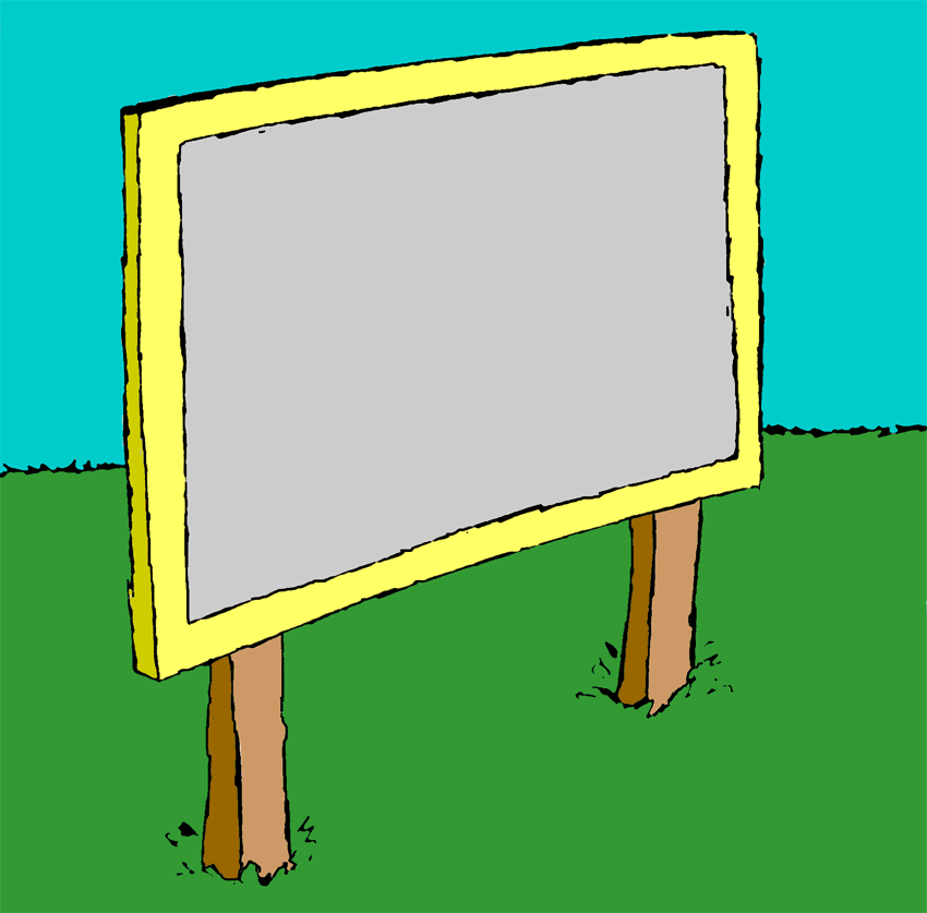 sign clipart - Sign Clipart