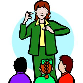 ... Sign Language Clipart - clipartall ...
