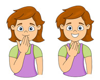sign language thank you clipart. Size: 73 Kb