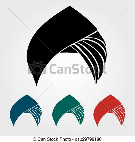 Colorful Turbans Or Headgear - Csp297981-Colorful turbans or headgear - csp29798180-2