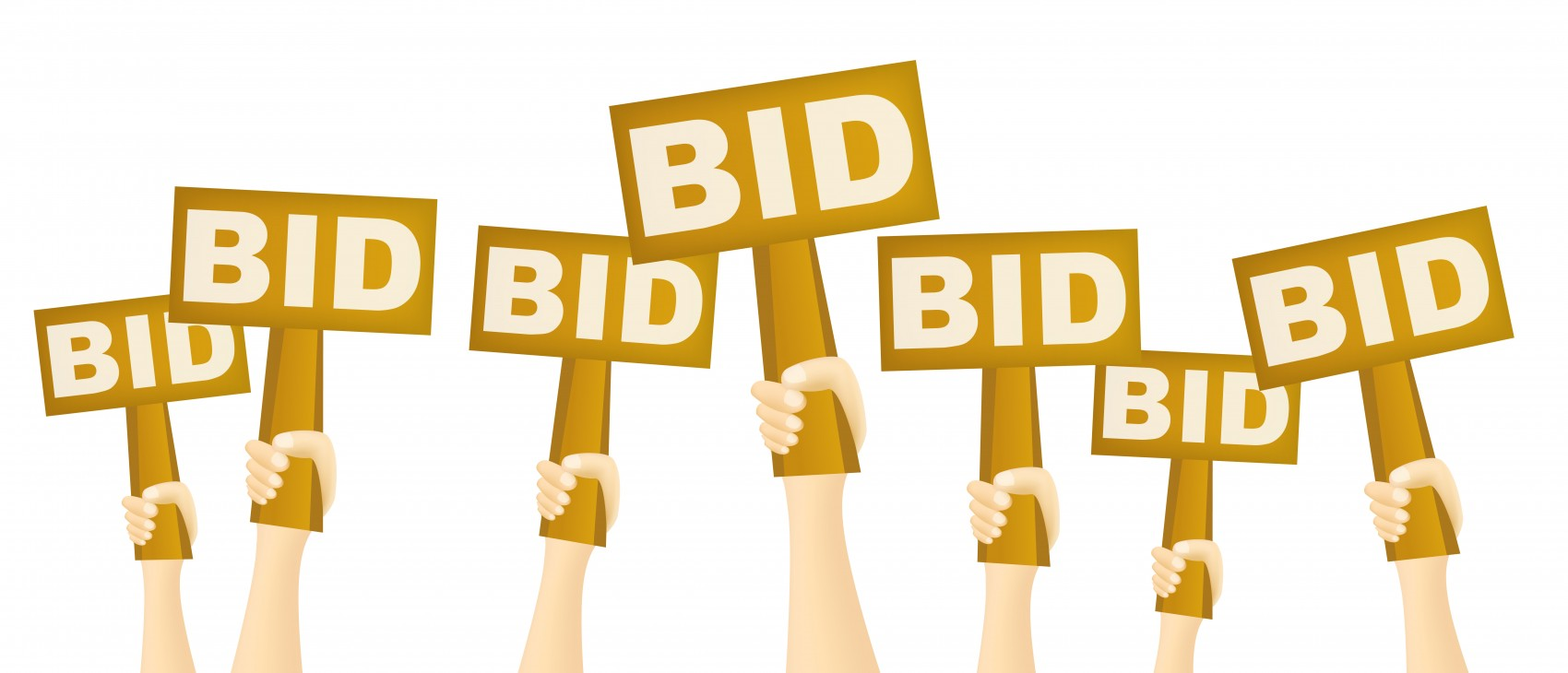 Silent Auction Bid Clip Art