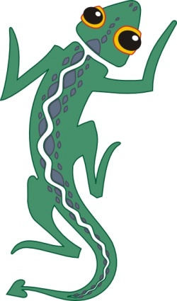 Silhouette Animal Black u0026amp; White -Silhouette Animal Black u0026amp; White Lizard; Lizard-19