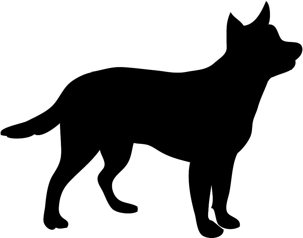 silhouette Basset hound, Australian cattledog. Basset hound, Australian Cattledog. Dog clipart, Dog clipart