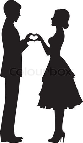 Silhouette, Clip art and .