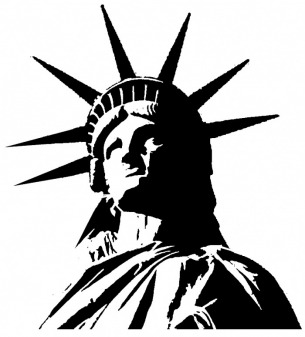 Silhouette Clip Art Statue Of Liberty Clip Art Statue Of Liberty Clip