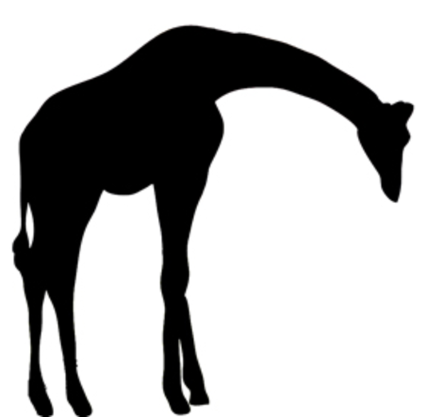 Silhouette Clipart Giraffe Free Images A-Silhouette Clipart Giraffe Free Images At Clker Com Vector Clip-16