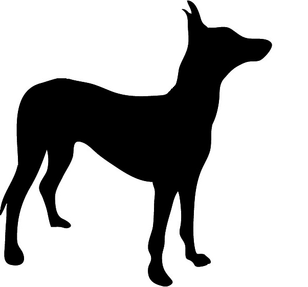 Silhouette graphics, Dog clipart. dog silhouette pies faraona ...